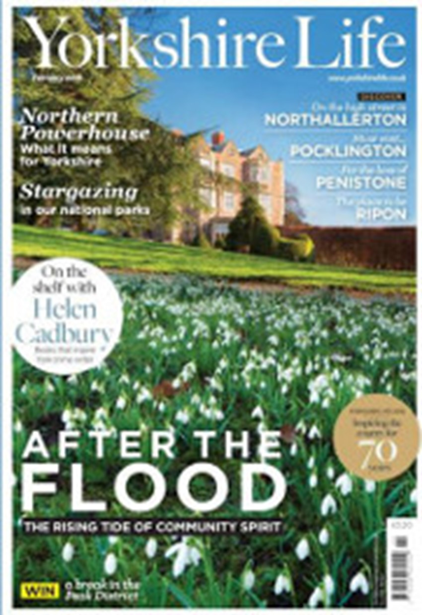 Yorkshire Life Feb 2 0 1 6 Cover