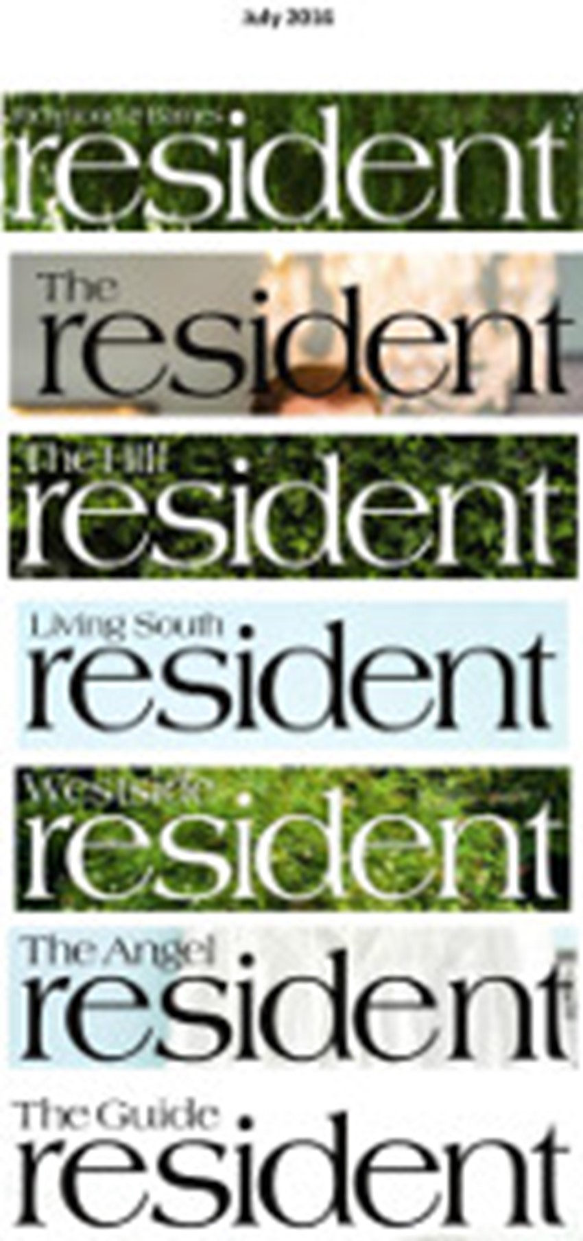 The Resident July 2 0 1 6 X 7 Titles