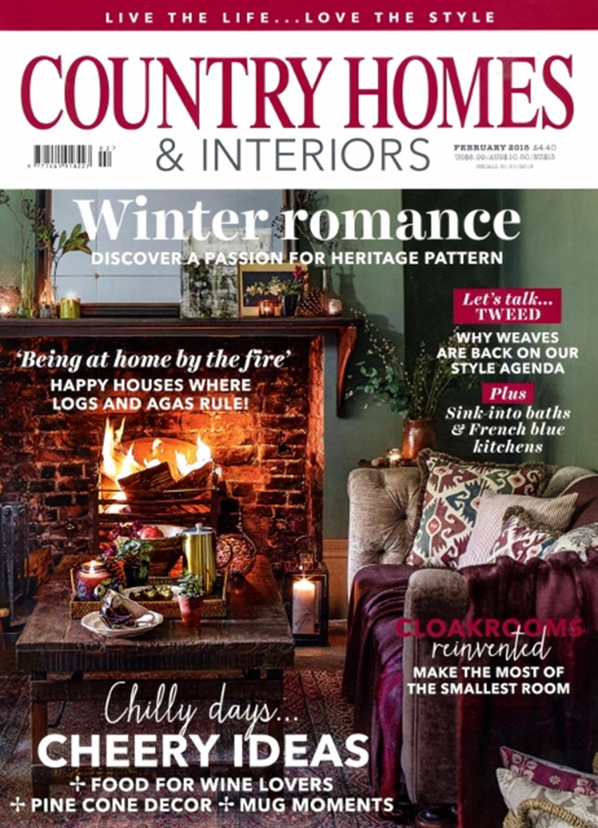 Country Homes Interiors February 2 0 1 8 4 6 2x 6 4 0