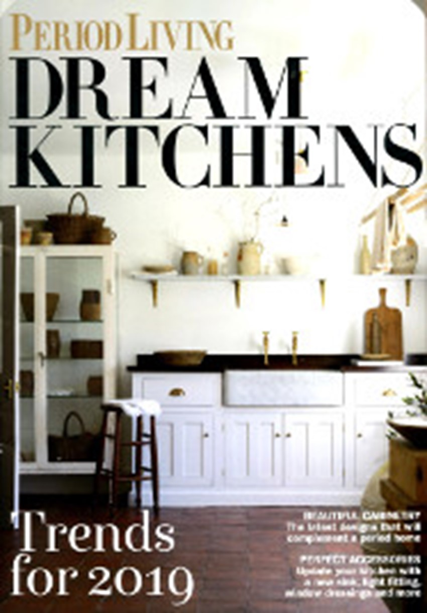 Period Living January 2 0 1 9 Dream Kitchens Supplement
